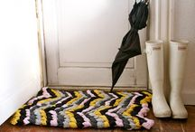 RUG MAKING / by Velma Floyd