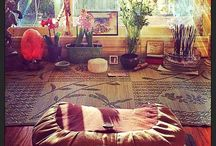 Sacred Meditation Space / by Xandra O'Neill
