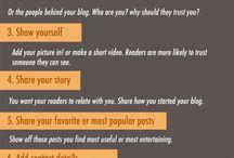 Blogging & Social Media / by Katie Barth