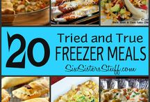 freezer meals / by Brittany Rose