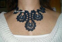 Crochet necklace / by Beelove Crochet