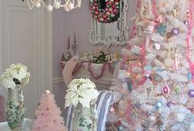 Pink Christmas / by Summer Fabian