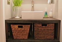 Bathroom Vanity Cabinets / by DIY Home Remodel