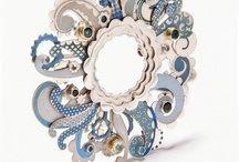 Enamel Jewellery / Interesting and beautiful examples of mostly contemporary enamel jewellery. / by Charlotte Smith