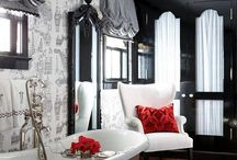 Red black and grey / by Betsy Schwenn