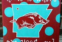 How About Those Hogs / by Brandi Shinn
