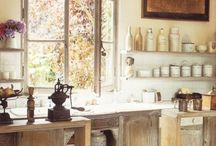 Heart of the Home - Kitchen! / by Lisa Walker