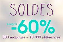 >> SOLDES << / Soldes sur le site Monshowroom.com de -20% à -60% ! / by MonShowroom.com ♥