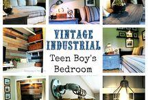 boy's room / by Betz White