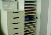 Craft Room Organising / by Kerina Edwards
