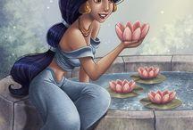 Disney princesses / by Kylee Beecroft