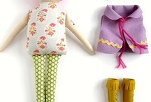 cloth dolls / by Jennifer Nelson
