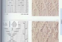 Raksti, shēmas - Knitting stitch patterns / by Dana Muižniece