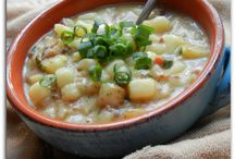 Food-Soups Stews / by Amy Weaver