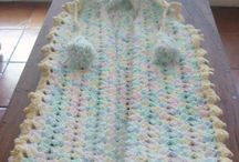 crocheted/knitted baby items / by Samantha Karr-Tom