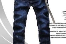 Men Jeans/Denims / by eFox City