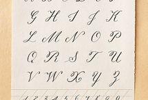 "Calligraphy-Fine Pens-Fine & Unusual Stationary / by Brenda ""Brandy"" Haas-Hauger"