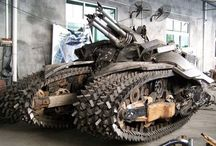 Zombie apocalyptic vehicles / Vehicles that would help you survive a zombie apocalypse  / by Damian Penichet