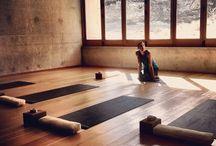 Yoga Studio Interiors / Yoga Studio Interiors / by Yoga Inspiration