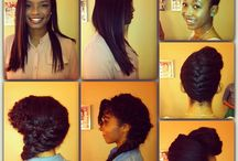 NRS Hairstyles / Hairstyles created at Natural Resources Salon in Houston, Texas. / by Natural Resources Salon