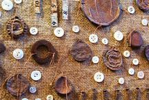 Collage/Art - Fabric, Stitching,Thread / by Liz Zimbelman