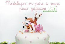 Décorations culinaires - pâte à sucre etc... / by Malory Dablanc