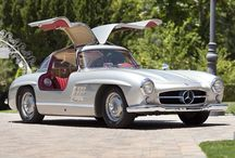 Mercedes Benz Gullwing  / Ultimate Cool / by Steven Linforth