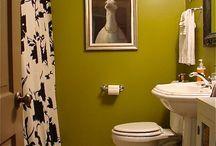 new laundry room/ bathroom / by Katie Van