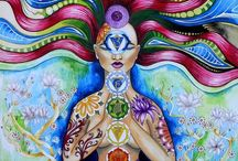 Yoga/ Chakras/ energy / by Gretchen Graham