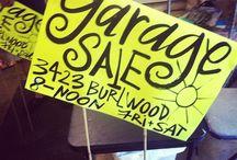 yard sale / by Tawn Bensink