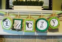St. Patricks Day / by Christina Atanowsky Brown