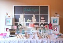 Dessert Table Backdrop Ideas / Backdrop ideas for your party styling and dessert table backdrops. Great decoration ideas! / by Natalie Stern