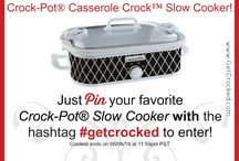 My favorite Crock-Pot® Slow Cookers / These are some of my favorite Crock-Pot® Slow Cookers. I LOVE the innovations on color, size and even technology! / by Crock-Pot Girl