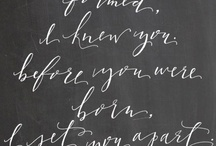 Lettering / by Susan Lines