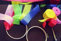 Crafty: Crepe Paper Fun / by Sarah Davis