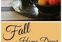 Fall Decor / by Cherese Kiara