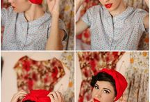 Head Scarf Styling / Have fun with your head wraps / by Samata