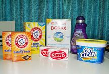 homemade cleaners & products / by Brandi Sholar