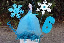 Frozen party ideas / by Jennifer Kent