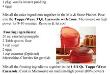 Tupperware Recipes / by Daphne Warren