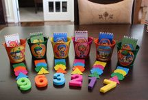 team umizoomi party / by Irissa's Crafts