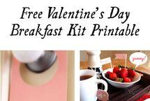 Free Valentine's Printables / by Fab N' Free