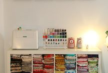 Sewing Room Organization / by Tricia Harvey