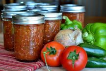 Canning foods / by April Kendall