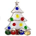 Stained Glass Christmas Decorations / by Lucy Tate