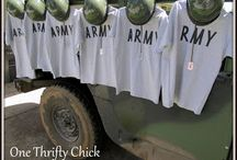 Army/Camo  Birthday Party / by Robin B