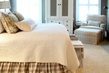 Master bedroom ideas / by Cally Claussen