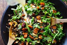 Food - Salads (Veggie) / by Carbomb Renee