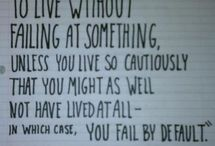 Words to Live By / by Sarah Clayton