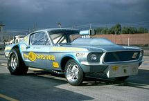 Old drag cars / by Terry Stump